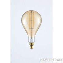 Forum Lighting INL-34030-AMB BT180 Amber Warm White Dimmable LED E27 Vintage Filament Lamp 6W 2000K