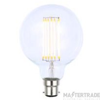 Forum INL-G95-LED-BC-CLR G95 Clear Warm White Dimmable LED BC Vintage Globe Lamp 40W 2200K