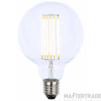 Forum Lighting Inlight INL-G95-LED-ES-CLR Vintage G95 ES Clear Dimmable LED Filament Lamp (Light Bulb) 2200K