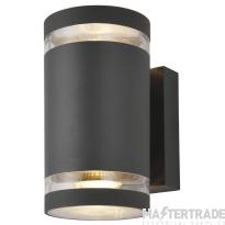 Forum Lighting ZN-29189-ATR Lens Anthracite Up/Down Wall Light 2 x 35W GU10