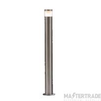 Forum Lighting ZN-33394-SST Pollux Stainless Steel LED Warm White Adjustable Post Lantern 4W 3000K