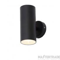 Forum Lighting ZN-33460-BLK Melo Black LED Cool White Wall Light 2 x 5W 4000K