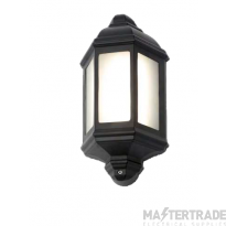 Forum ZN-33992-BLK Half Lantern LED 10W