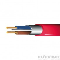 Prysiam Fire Performance Cable FP200G2C4RED Gold 2C 4mm Red 100m
