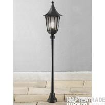 Franklite LA1607-1 Boulevard Black Traditional Exterior Lamp Post