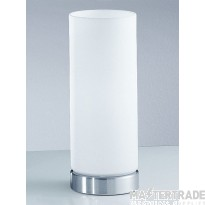 Franklite TL746 Glass and Brushed Nickel Touch Lamp