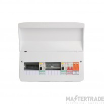 FuseBox F1010DX  Dua  RCD Flex 9 Usable Ways Consumer Unit SPD T2  F1010DX (9 Usable Ways)