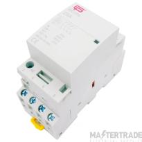 FuseBox INC254 Contactor 4P 25A 230V