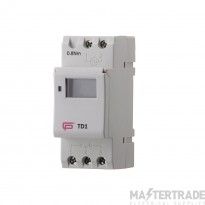 FuseBox TD1 Time Switch 16A 7 Day 1Ch