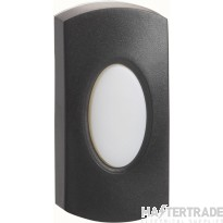 G/Brook DP010A-C Hardwired Bell Push Blk