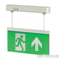 Greenbrook ELLEDH1 LED Emergency Hanging Exit Blade Hanging 3hrM