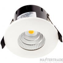 Greenbrook LEDDLC3000W Vela Compact IP65 Dimmable Fixed LED Fire Rated Downlight - 7W 3000k