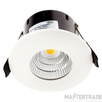 Greenbrook LEDDLC4000W Vela Compact IP65 Dimmable Fixed LED Fire Rated Downlight - 7W 4000k