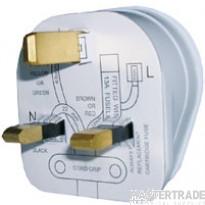 G/Brook PT13WN Plug Top 13A White