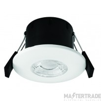 Greenbrook VCP3000W Vela Compact PRO 6W Fire Rated Downlight - Fixed 3000K