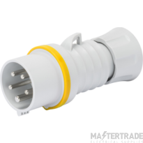 Gewiss GW60012H IP44 Yellow Industrial Plug IP44 2P+E 32A 110V