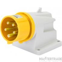 Gewiss 16A 2P+E IP44 Yellow Appliance Inlet  110V GW60401