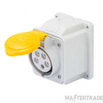Gewiss GW62401 Yellow Socket Outlet 16A 2P+E 110V 10O