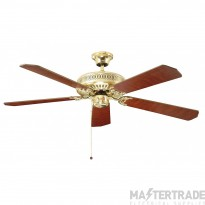 Fant 110019 Fan 52in Polished Brass