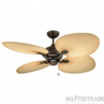 Fant 111665 Palm Fan 52in Choc Brown
