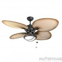 Fant 114871 Palm Fan 52in Choc Brn IP54
