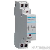 Hager EN145 Interface Relay 1 Ch 12/24V