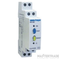 Hager HR502 Earth Leakage Relay 0.3A