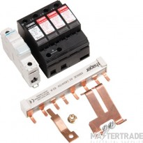 Hager JK102SPD 125A Surge Protection Kit Type II