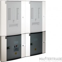 Hager Invicta Dual Multi-Function Pulsed & Modbus Meter Pack JKD125PM
