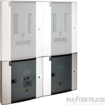 Hager Invicta Dual Multi-Function Pulsed & Modbus Meter Pack JKD250PM