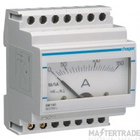 Hager SM150 Ammeter Analogue