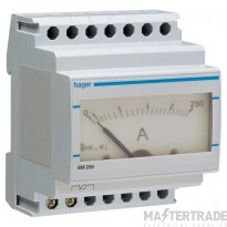 Hager SM250 Ammeter Analogue