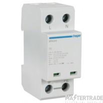 Hager SPA201 DP Surge Protection Device 12.5kA