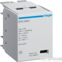 Hager SPN080N Cartridge for SPN802 25kA