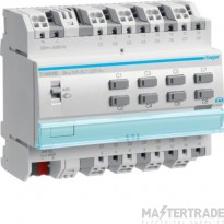 Hager TYA608B Output module 8x 10A /230V~, KNX