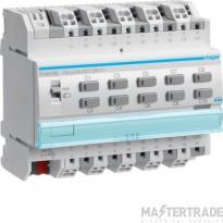 Hager TYA610B Output module 10x 10A /230V~, KNX