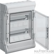 Hager  6 Module 1 Row IP55 Enclosure  Insulated VE106U