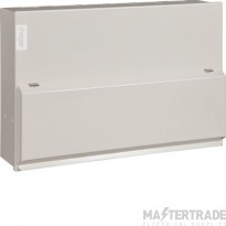 Hager VML110 10 Way Switch Consumer Unit 100A Square KO