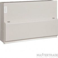Hager 5+5 Way Split Load Twin RCCB Consumer Unit 2x100A