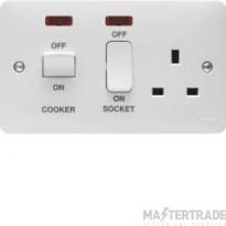Hager WMCC50N Cooker Control Unit+Neon