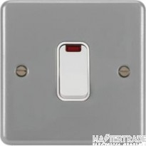 Hager WPDP50N DP Switch 1 Gang 50A