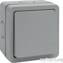 Hager WXPPS12 Switch DP 1G 1 Way 10AX