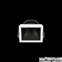 Hoff Lights 841112104 MALTA SQUARE WHITE RING FOR LED MODULE O GU10 MAX 13W