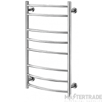 Hyco AQ40LC Ladder Electric Towel Rail Radiator 40W Chrome