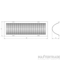 Hyco THG02 Tubular Heater Guard 2ft