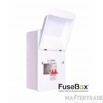 FuseBox  Mains Switch Incomer 100A 2 WAY F1002M
