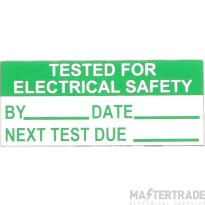 Deligo TC10625 TESTED Labels Pk=140