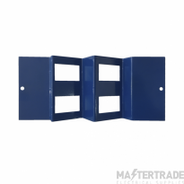 Marco MP3-4DA Accessory Plate Ang 4xRJ45