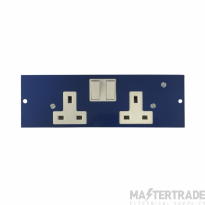 Marco MP4-2GSC Twin Switched Socket 86mm