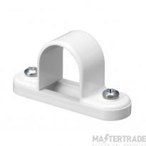 Mita SBS25W Spacer Bar Saddle 25mm White